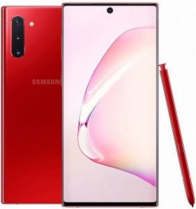 Note 10 Red